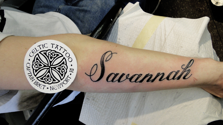 Current tattoo trends involving lettering custom fonts for Fancy name tattoos