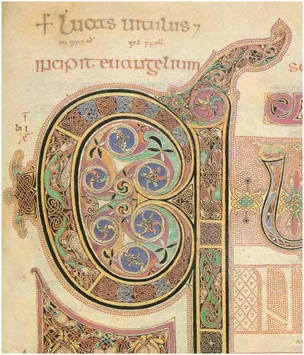 ... viewer can study Th Book of Kells will have a feast of illustration