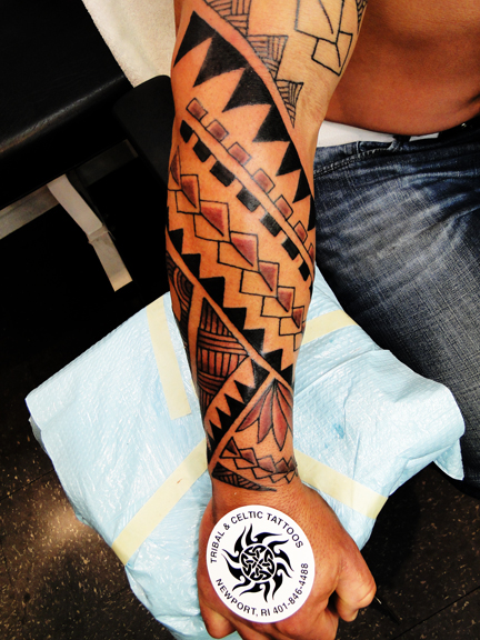 Tribal Tattoos. Newport,RI. Tattoos by Captain Bret,Polynesian ...