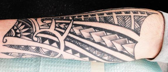 tribal shark tattoo for women