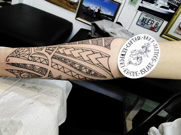Tribal Tattoos Newport Ri Tattoos By Captain Bret Polynesian Hawaiian Native American Art