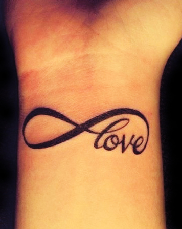 Infinity Tattoo with Love