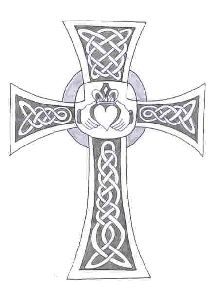christian symbols cross wallpaper