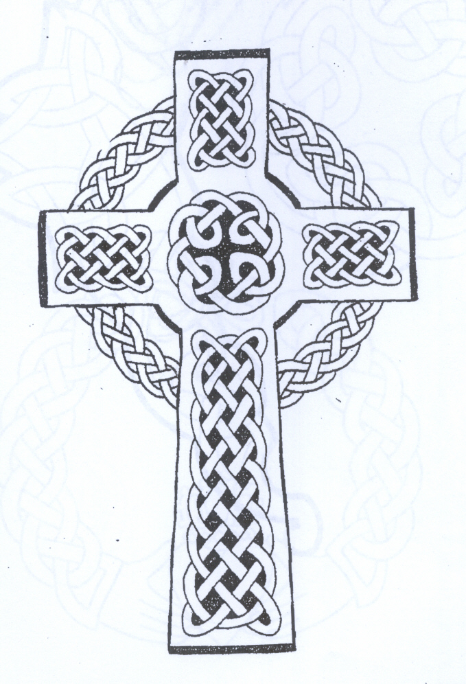 Celtic Cross Tattoo. Celtic Tattoo Shop, Newport, Rhode Island.
