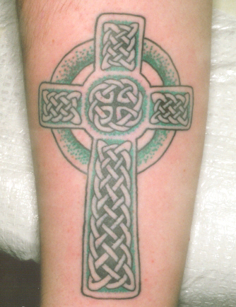 click to download this Celtic Cross Tattoo