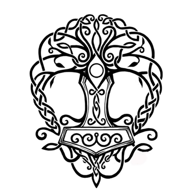 Norse Tribal Tattoo