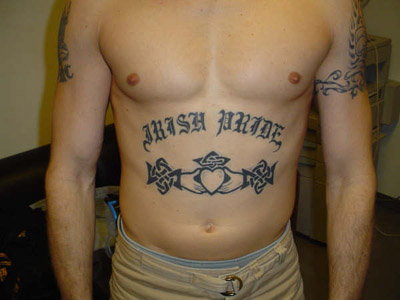 celtic tattoo designs on ... as Tattoos. Also Gang Tattoos use of Old English Letters is explored
