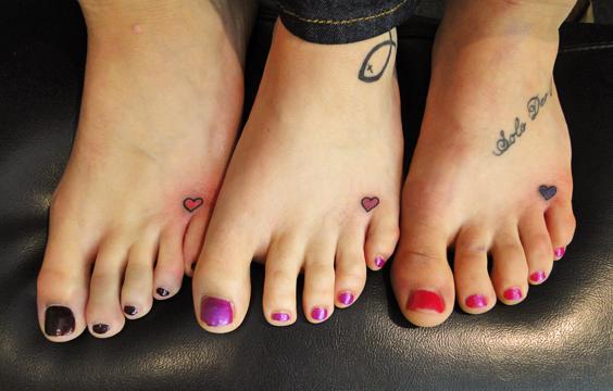 Ink for Three friends tattoo