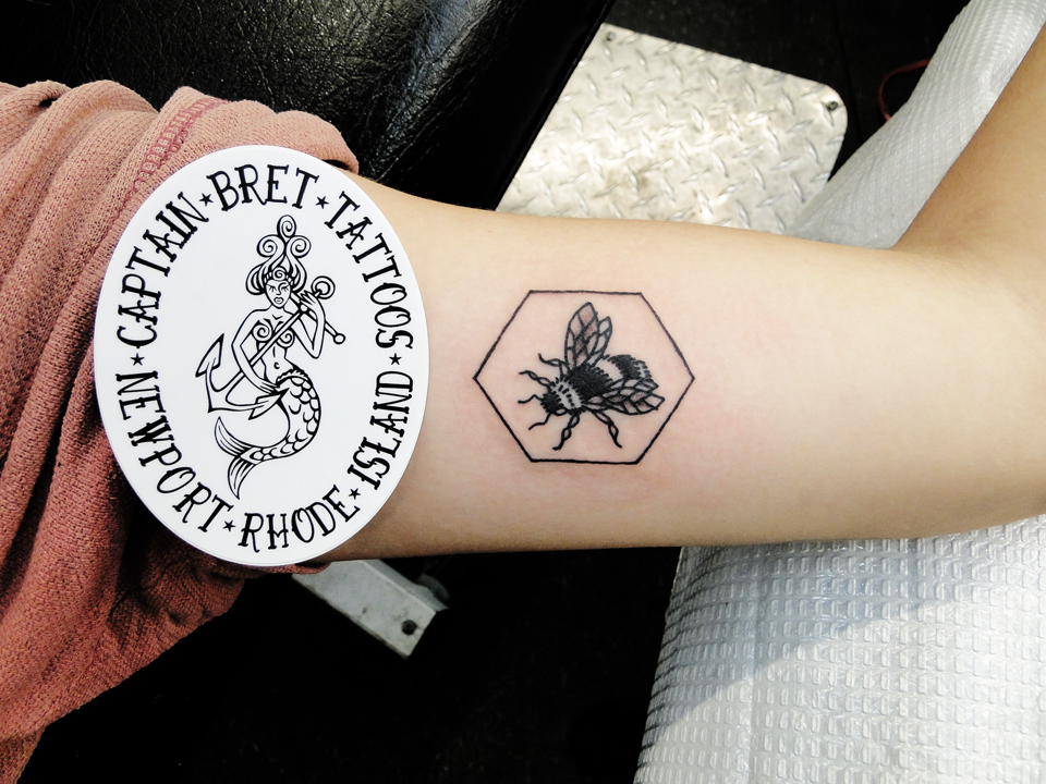 Newportri tattoos tattoos by captain bret celtic tattoo bee hexagon tattoo gumiabroncs Image collections