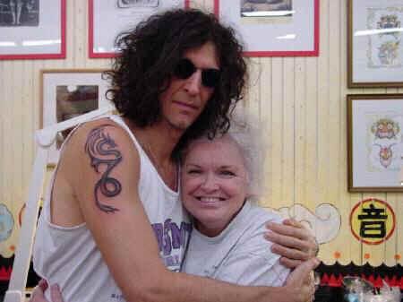 Howard stern Tattoo