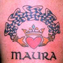 celtic wolf symbol tattoos