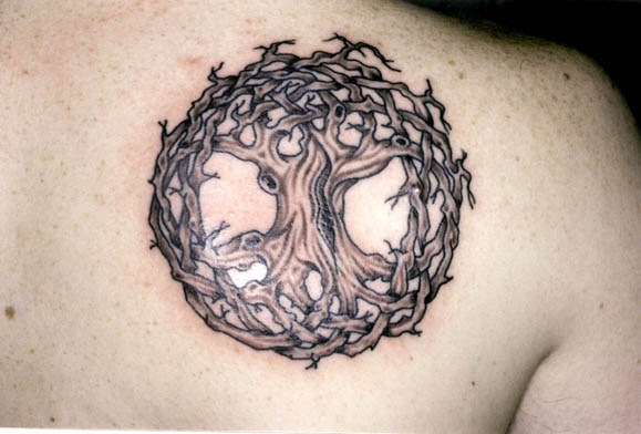 click to Download this Tattoo. Tree of Life - Beginning and End - Continuity