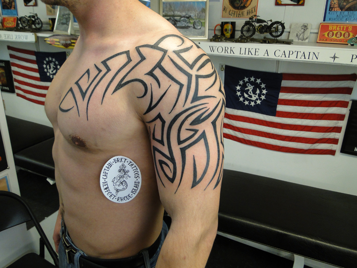 fa6432679 Tribal & Polynesian Tattoos Portfolio by Captain Bret, Newport, RI