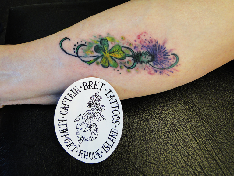 and images page. Tattoo photography page of Captain Bret's Tattoo ...
